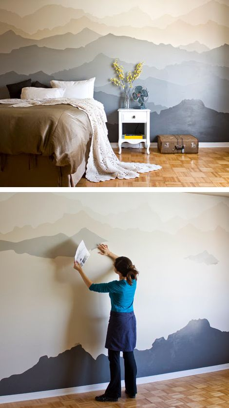 Drawn wall 25+ paintings Pinterest Best Wall