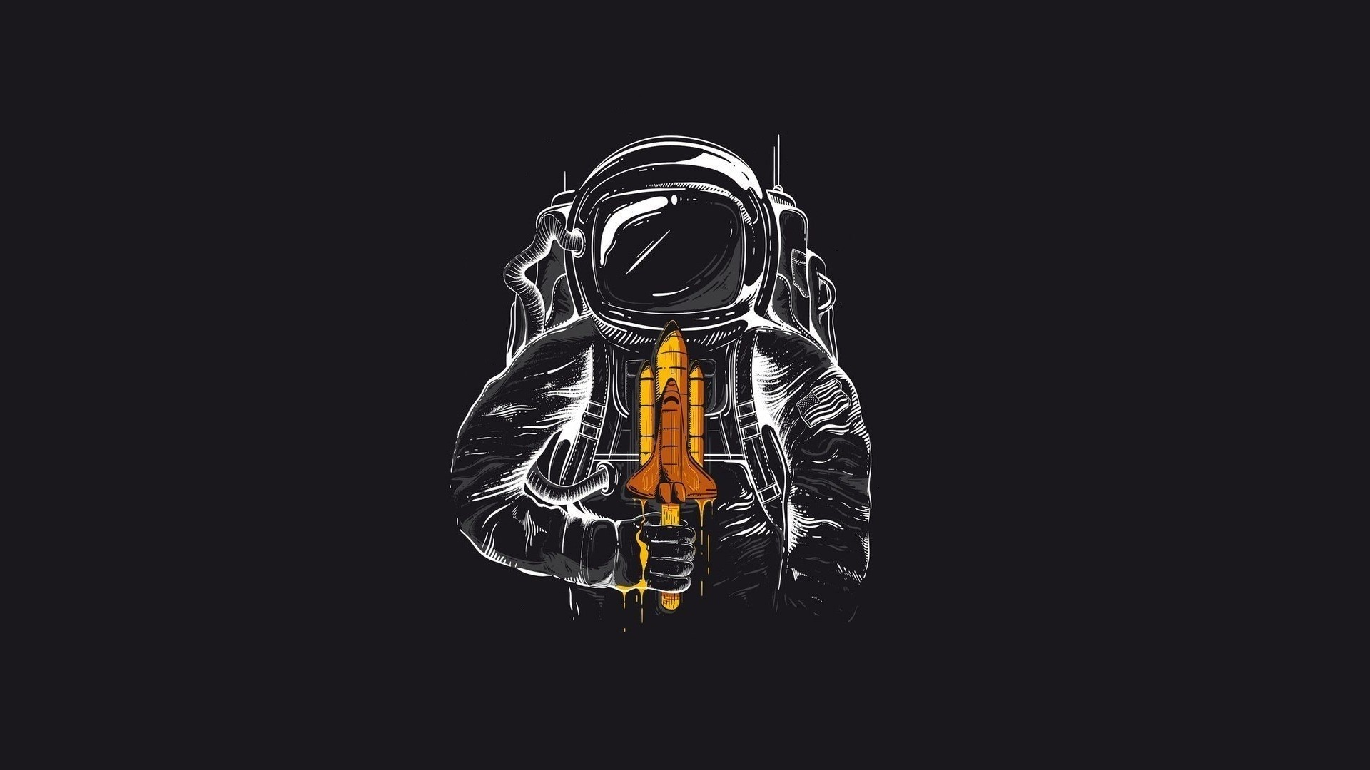 Drawn wallpaper astronaut HDWallpapers Astronaut On Collections Astronaut
