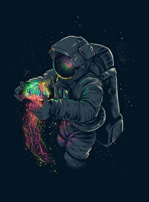 Drawn wallpaper astronaut Drawing Best Astronaut ideas #Lockscreen