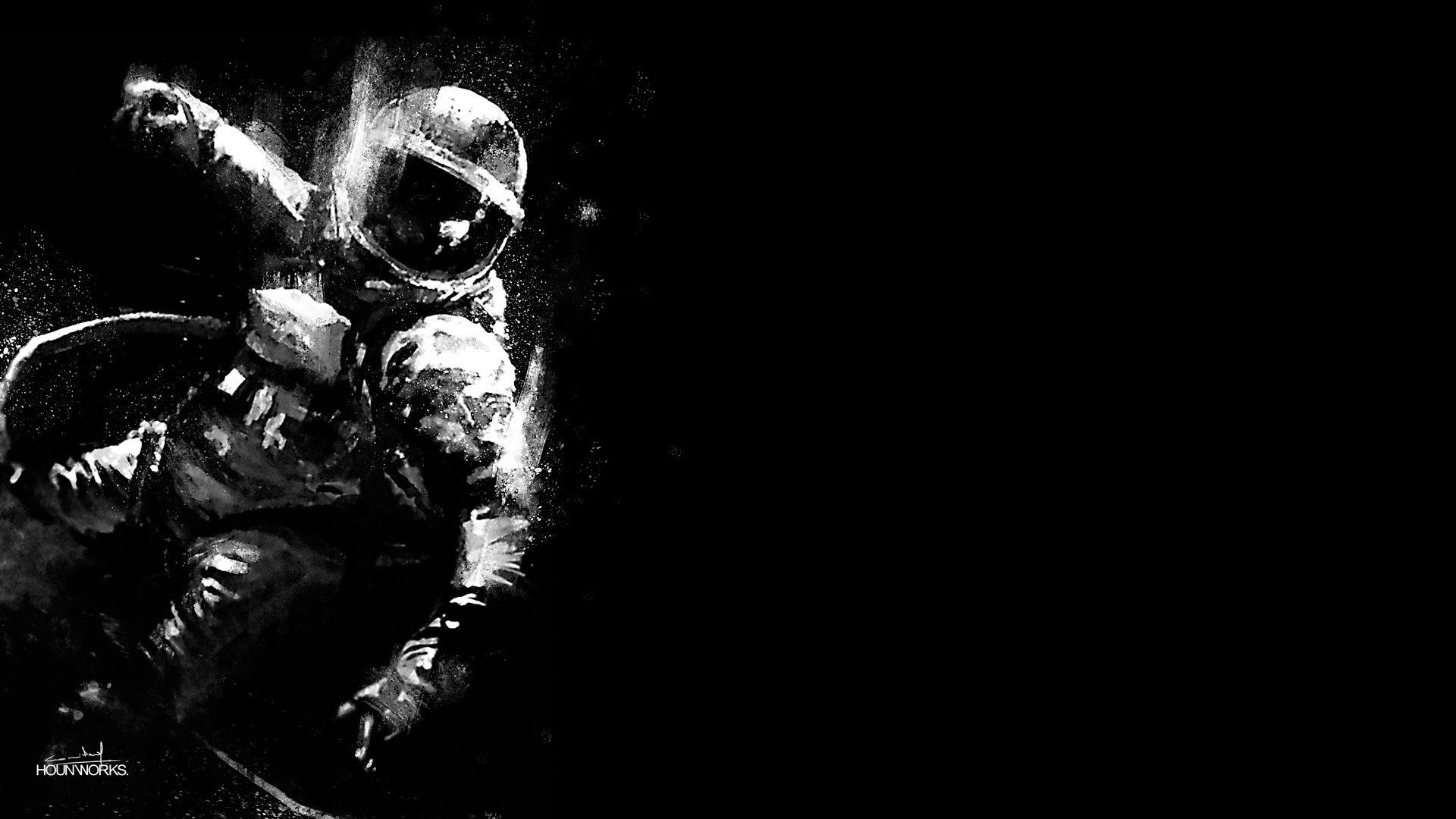 Drawn wallpaper astronaut Astronaut Wallpapers Free Wallpapers Desktop