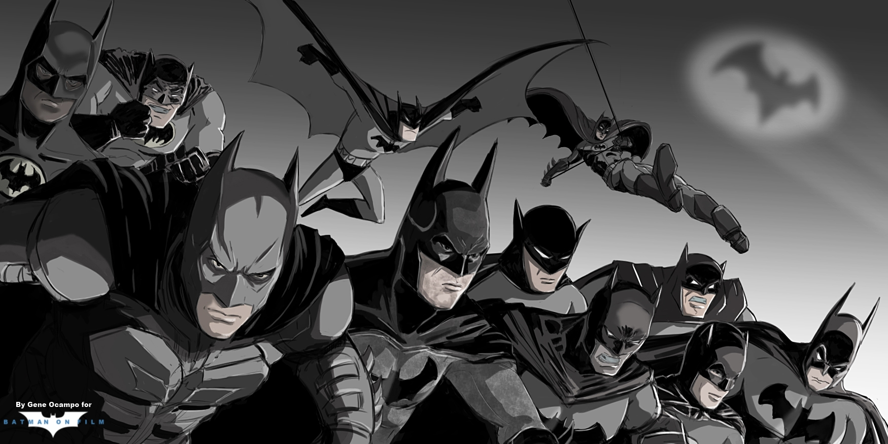 Drawn wallpaper batman FILM Wallpaper