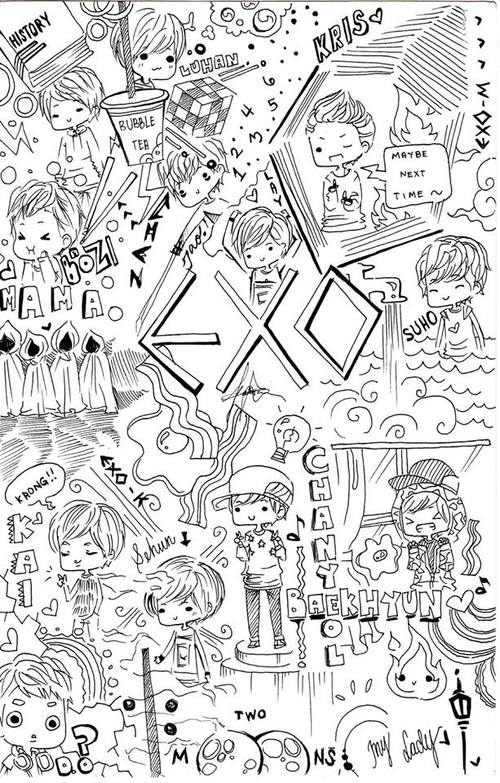 Drawn wallpaper black book Note in what my in