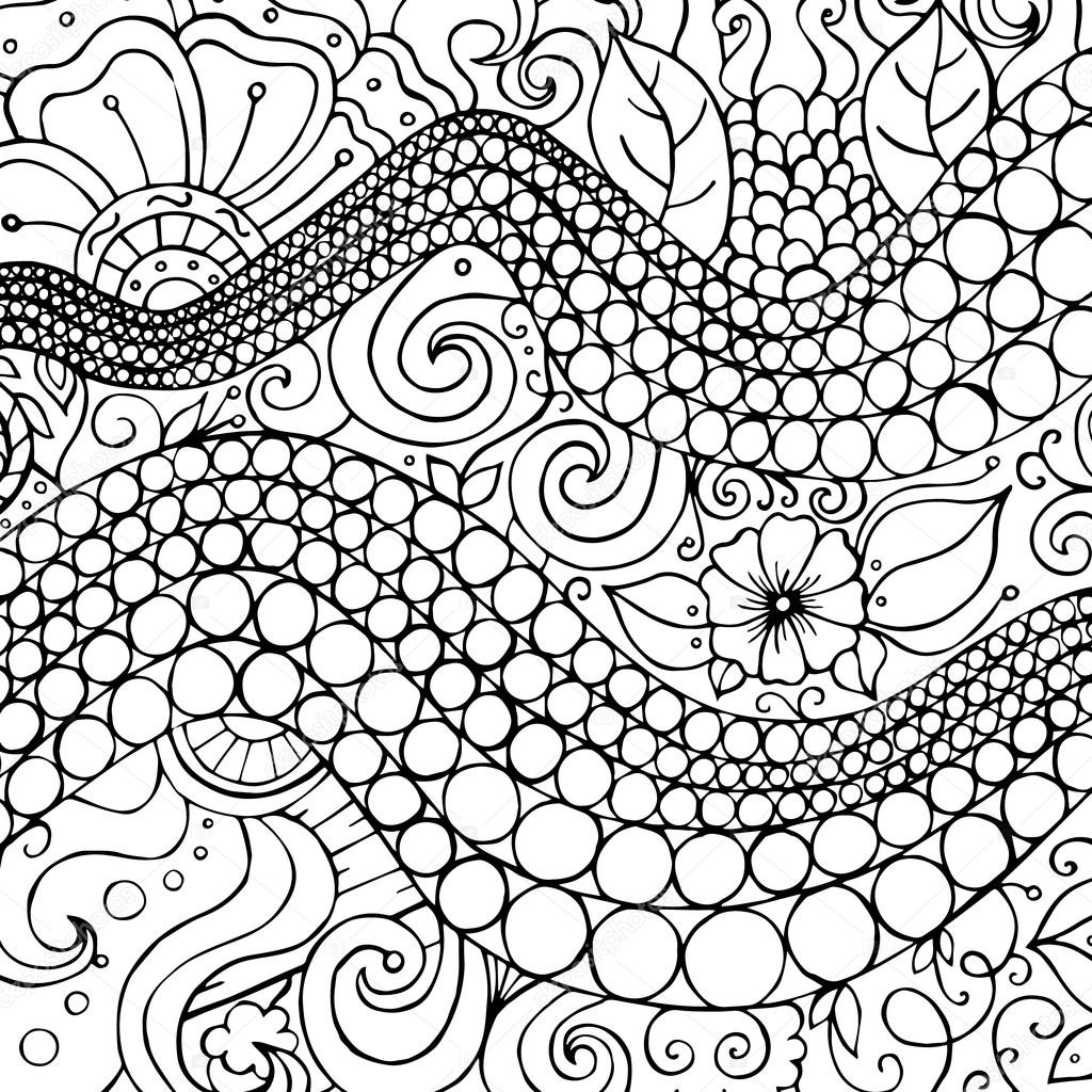 Drawn wallpaper black book Background circles pattern for doodles