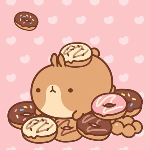 Drawn wallpaper bunny Instagram and and donut buddies