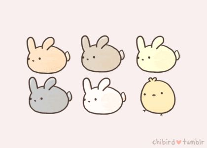 Drawn rabbit adorable bunny About 265 Find and Molang