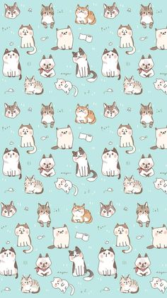 Drawn background cat :) for Design cat drawings