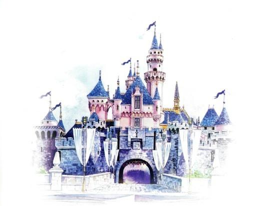 Drawn wallpaper castle Draw To Wallpaper Beauty Castle