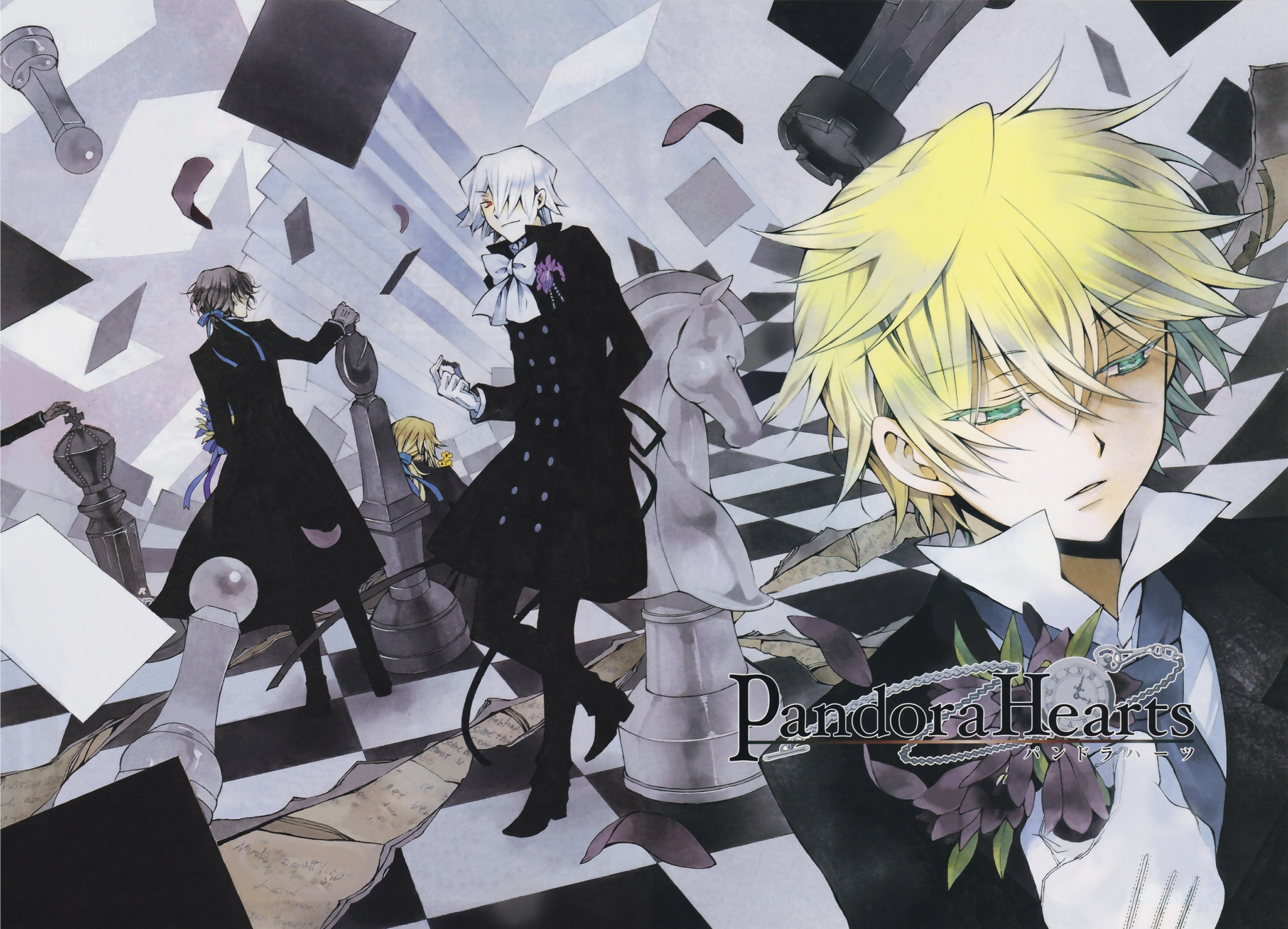 Drawn wallpaper chess anime Pandora High Wallpaper: Wallpapers