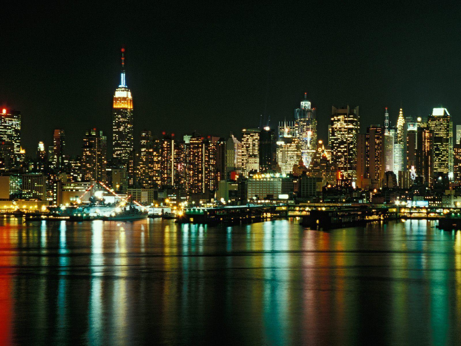 Drawn wallpaper cityscape  New York wallpaper York
