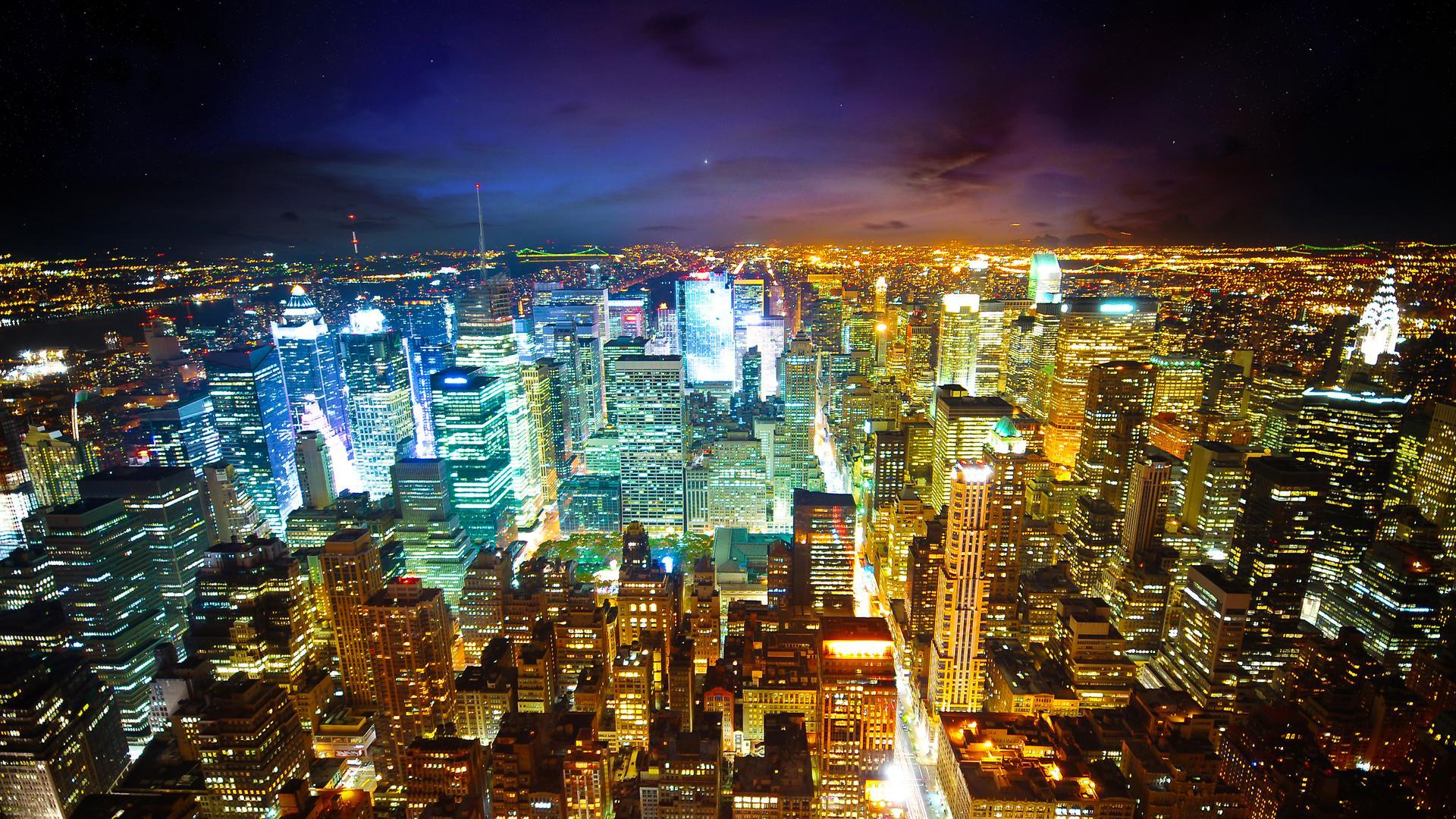Drawn wallpaper cityscape Drawing Beautiful Night  New