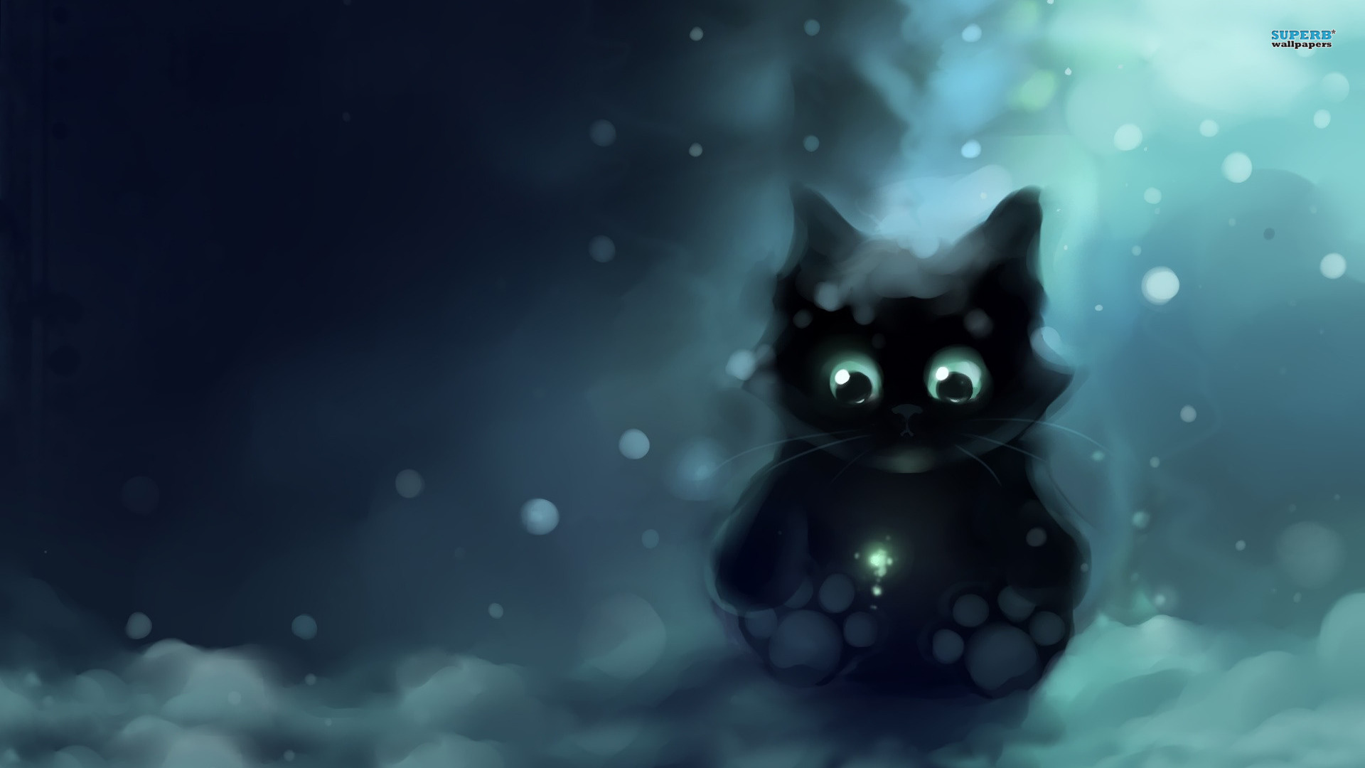 Drawn wallpaper cute anime cat Px Free Animal And 1920x1080