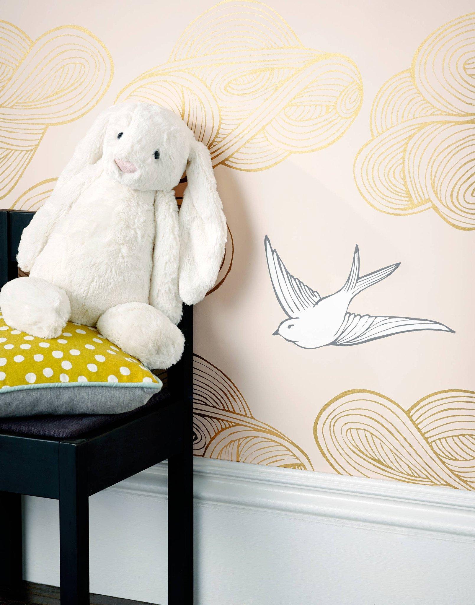 Drawn wallpaper daydream (Blush) Daydream Hygge (Blush) &
