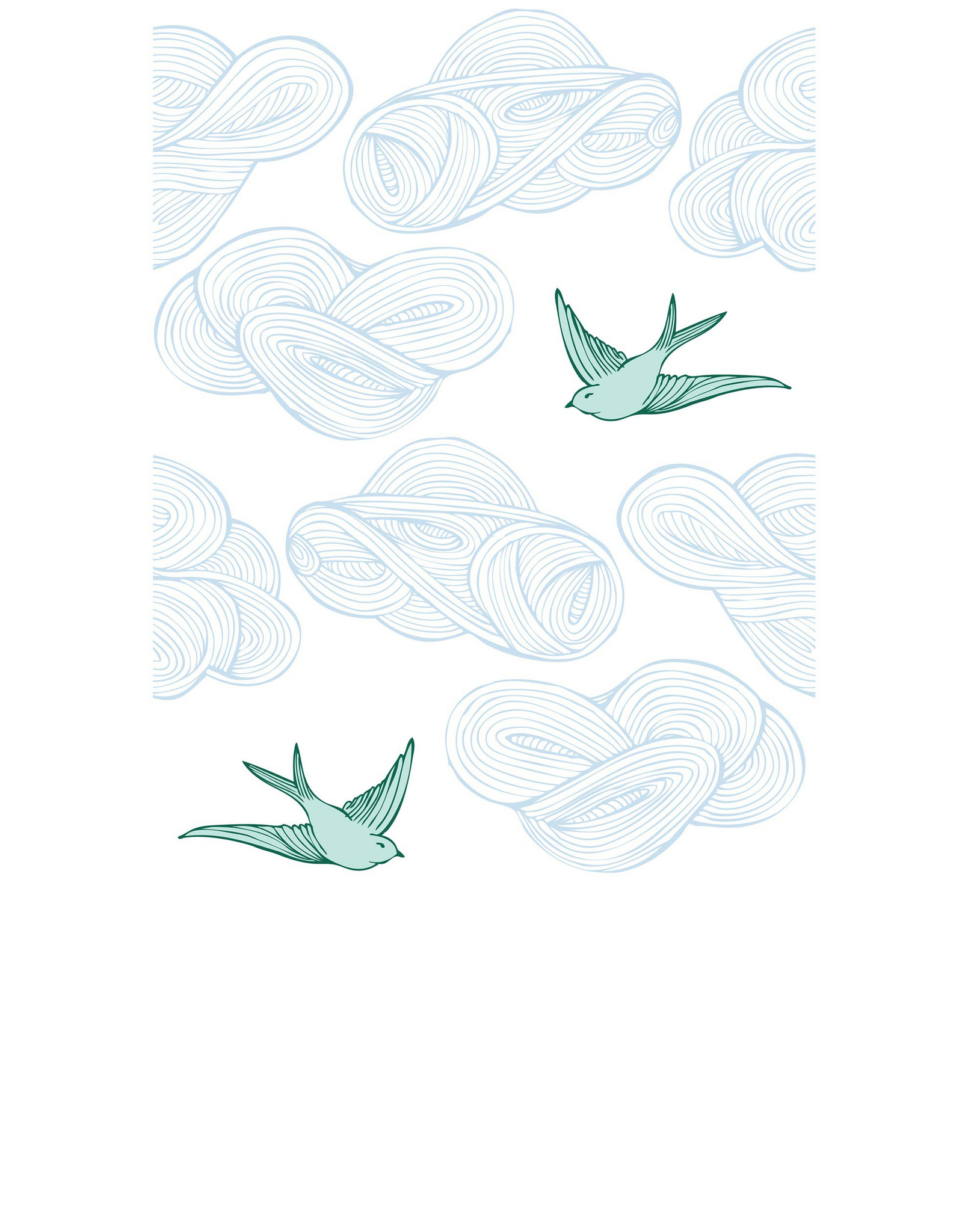Drawn wallpaper daydream Daydream Daydream West & (Green)