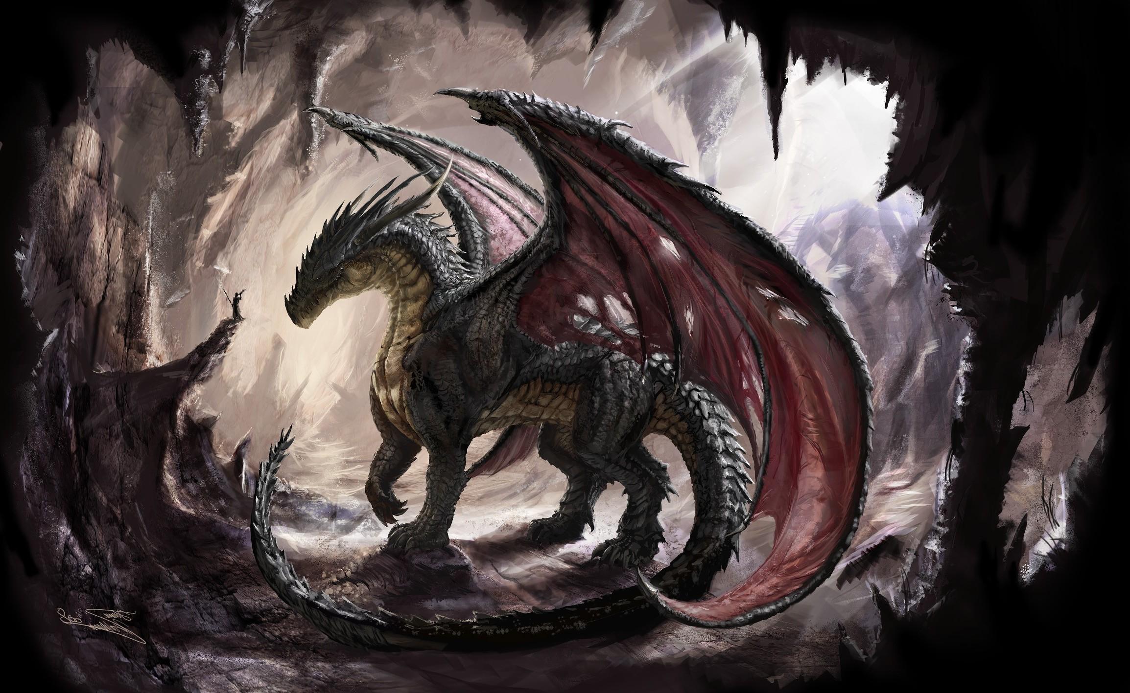 Drawn wallpaper dragon Desktop dragon Wallpaper Wallpapers Art