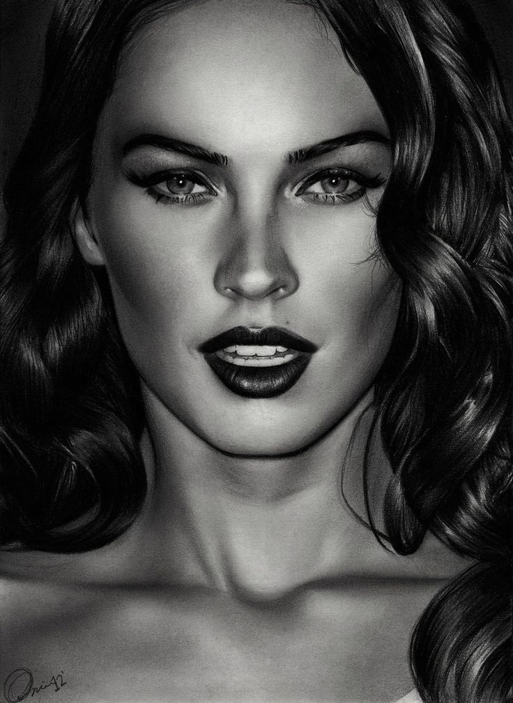 Drawn portrait megan fox Images Pin Drawings this Famous