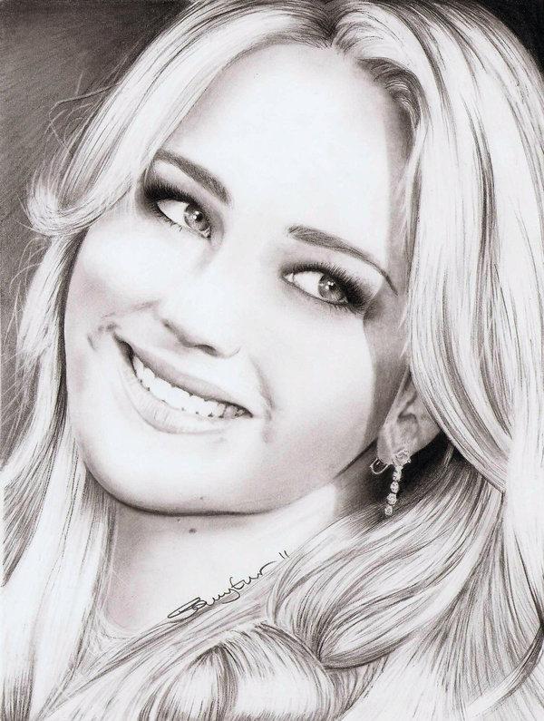 Drawn celebrity pretty person #1