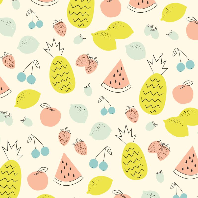 Drawn wallpaper fruit  ☆Flowers/Fruits Kleine Studio Studio