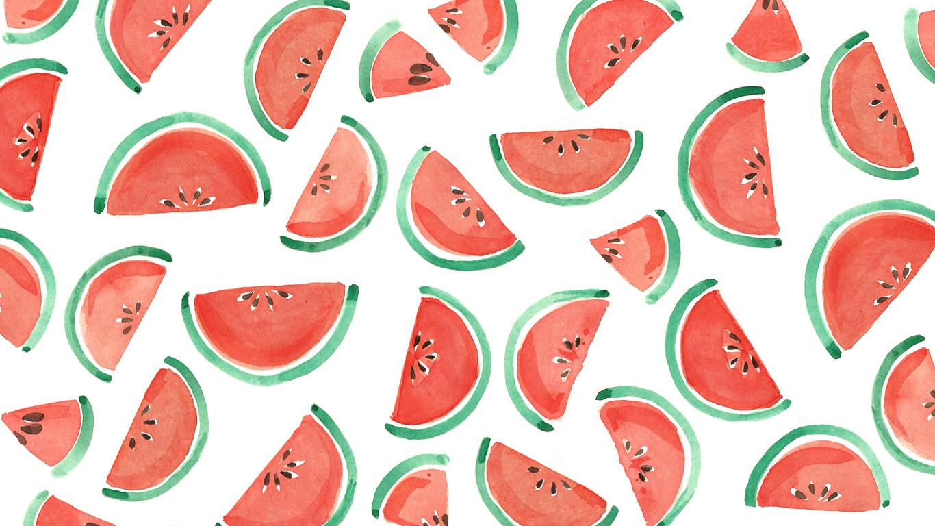Drawn wallpaper fruit Fruit – Salad art 1602c