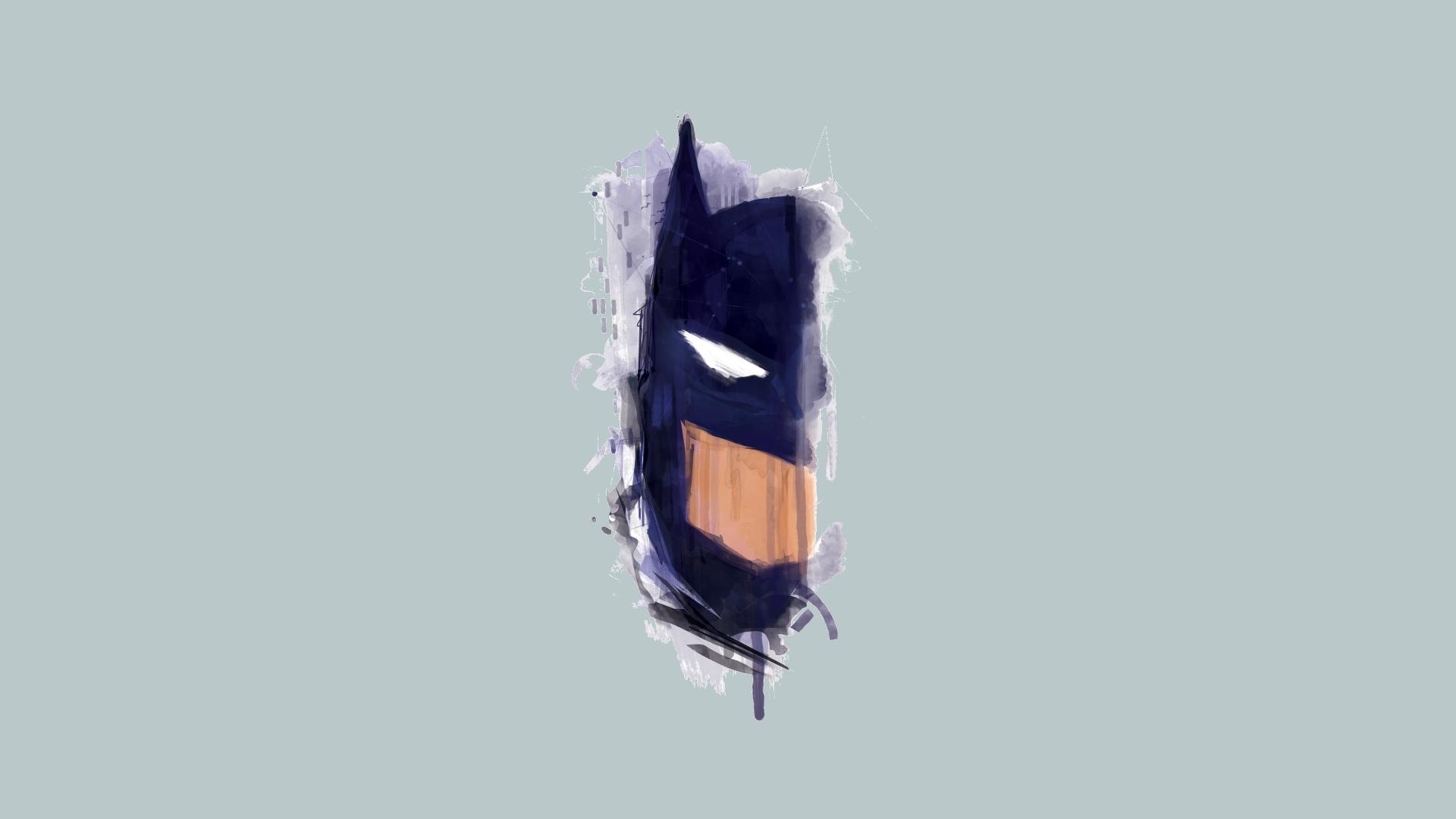 Drawn wallpaper graphic Wallpaper Batman  Minimal Draw