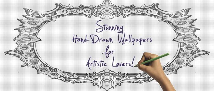 Drawn wallpaper hand drawn  Wallpapers Hand Drawn Designs