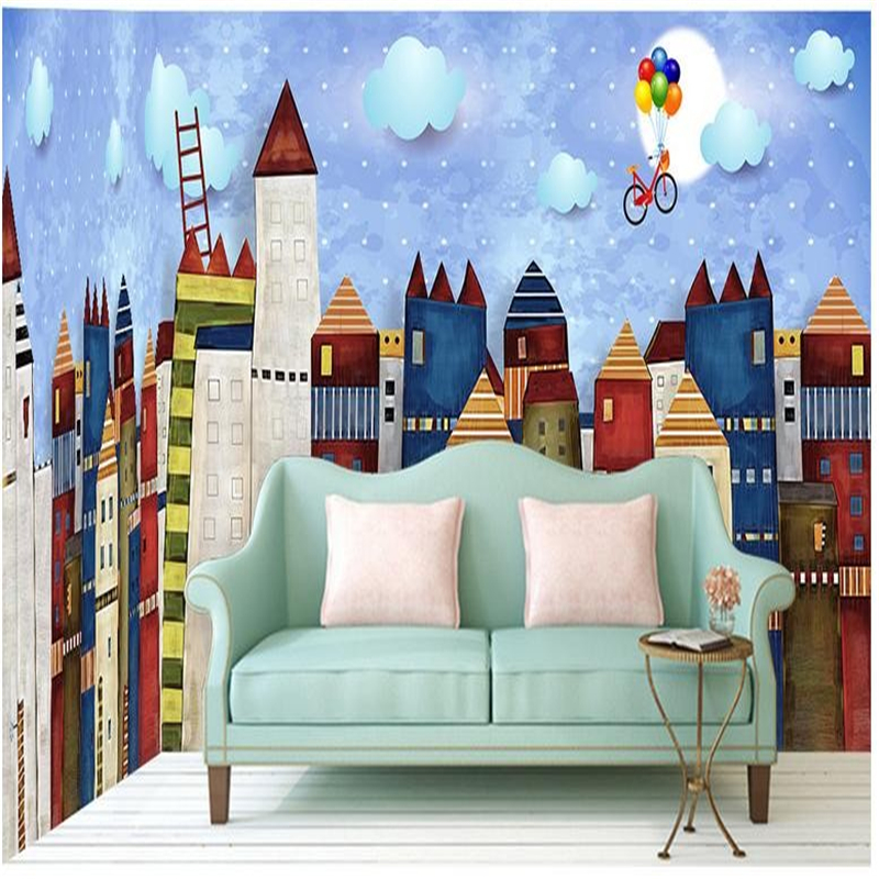 Drawn wallpaper house Wall Castle from house for