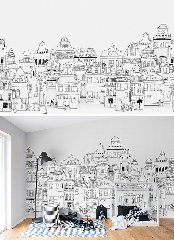 Drawn wallpaper house Home  ideas on Wallpaper
