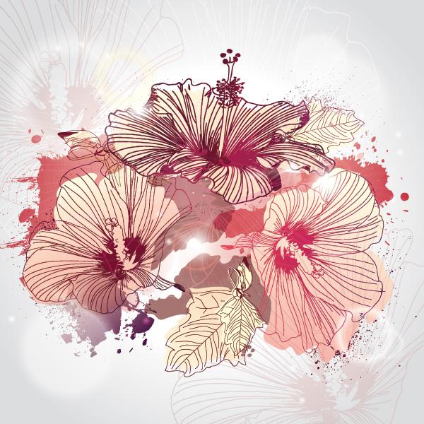 Drawn wallpaper illustrated Illustrated Flowers #flowers Illustrated #flowers