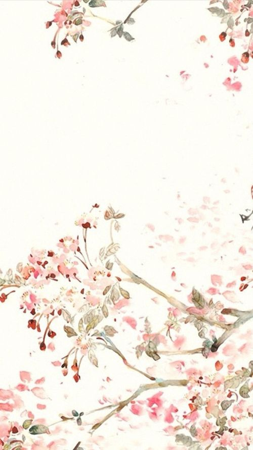 Drawn wallpaper illustrated Pink wallpaper watercolour iphone images