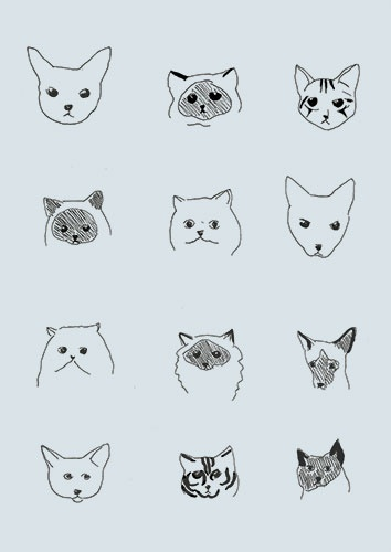 Drawn wallpaper illustrated {cat Please & Nienaber: about