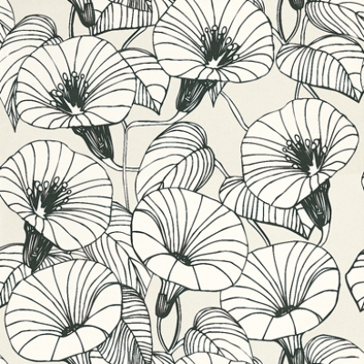 Drawn wallpaper line drawing (FW108) Wallpapers  Ferm beautiful
