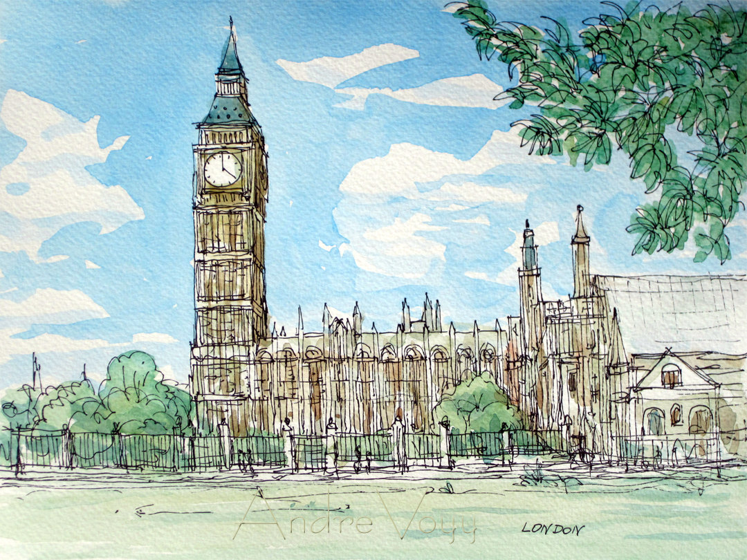 Drawn wallpaper london Pinterest Big Sketches  Paintings