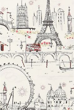 Drawn wallpaper london Eiffel tower on  best