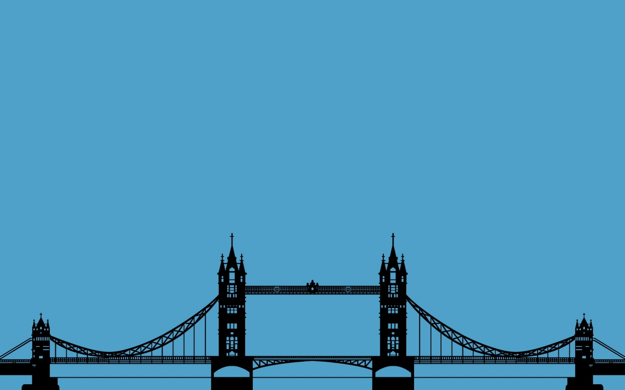 Drawn wallpaper london Minimalism Minimalism Download 1280x800 London
