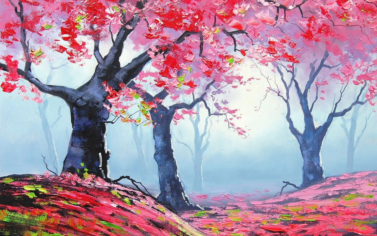 Drawn wallpaper nature Wallpaper Spring The is your