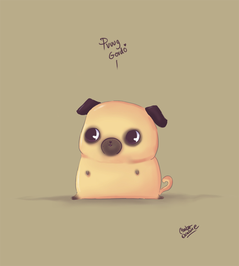 Drawn wallpaper pug Pug Pug DeviantArt Apocalyptic Loopydave