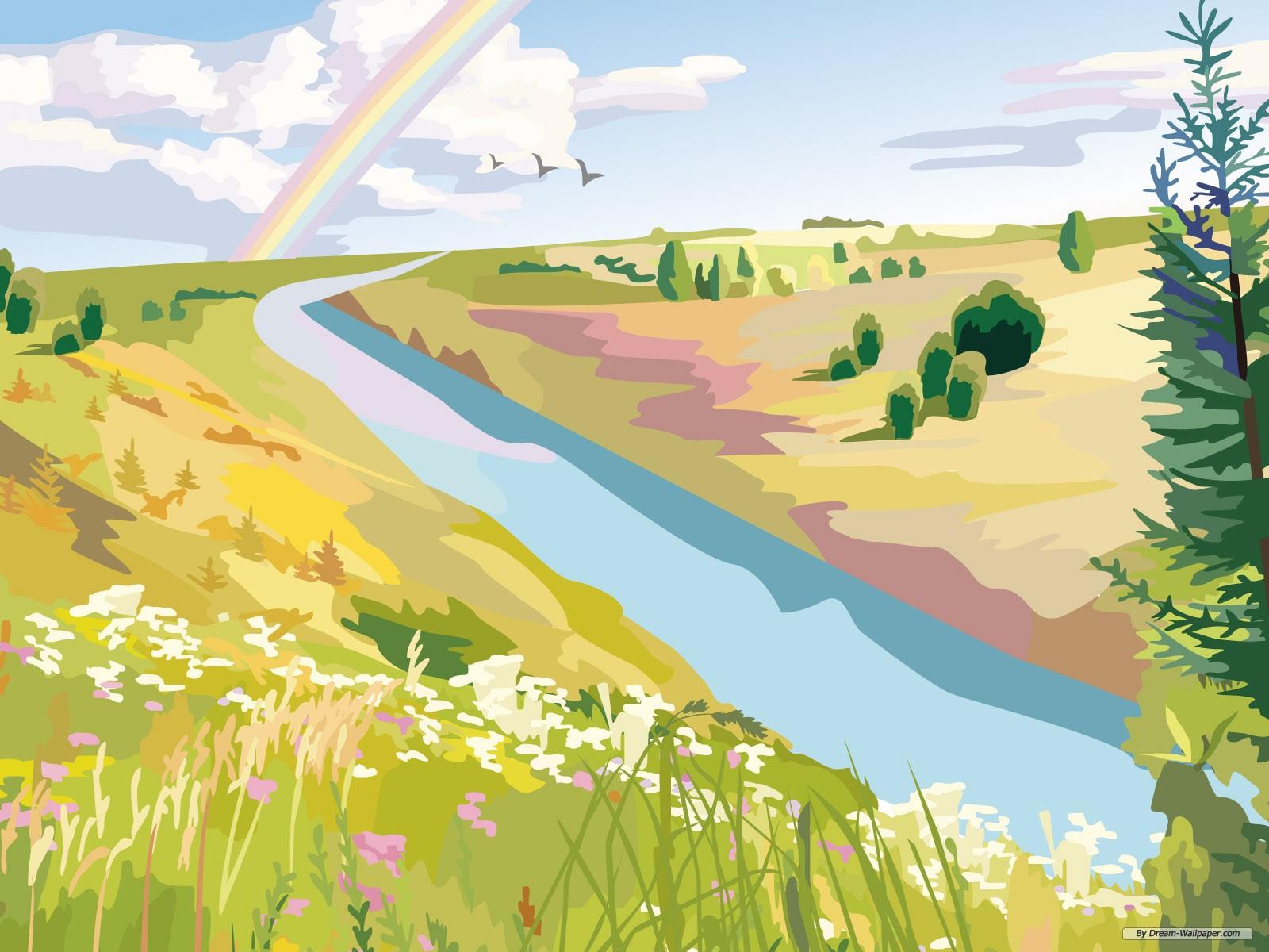 Drawn wallpaper scenery Beautiful  scenery Free Drawing