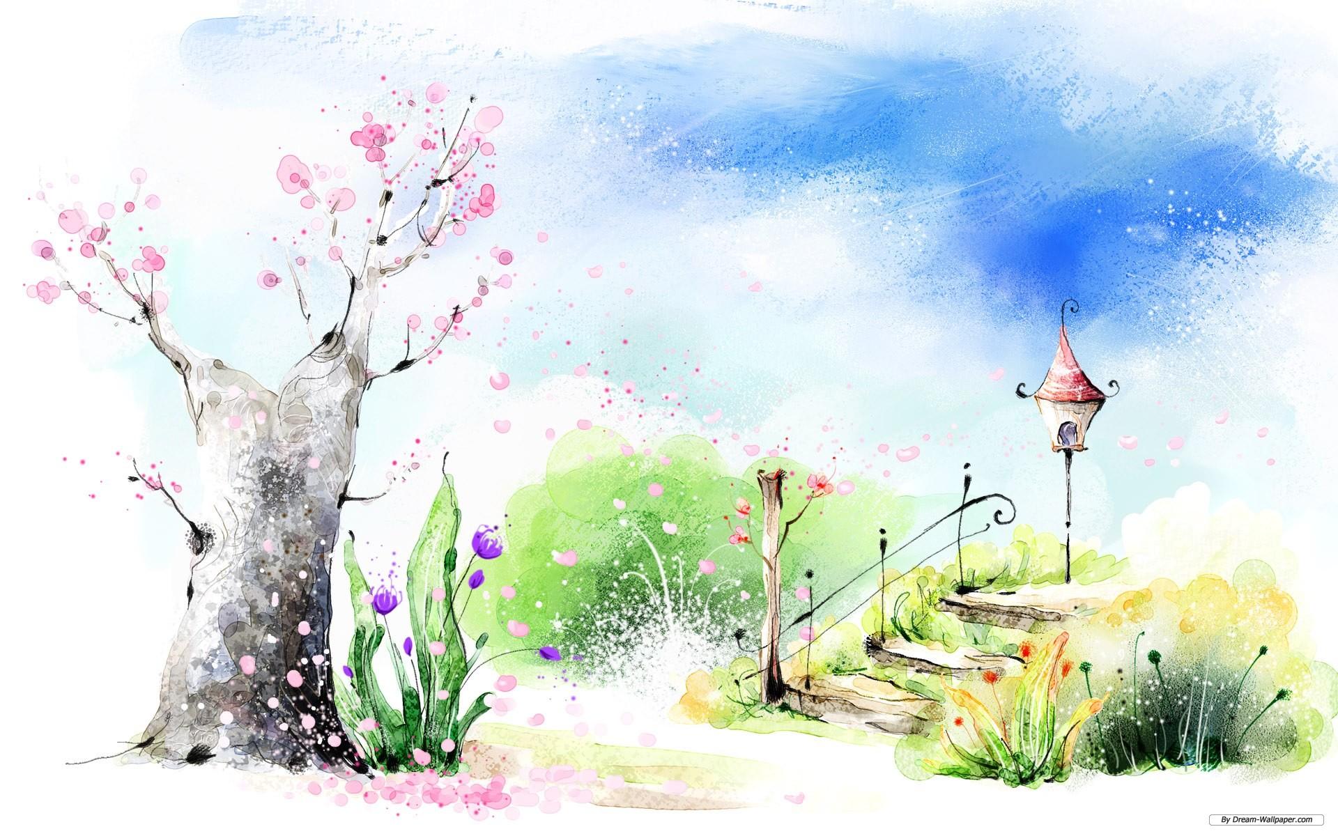 Drawn wallpaper scenery Drawing Drawing beautiful Scenery drawings