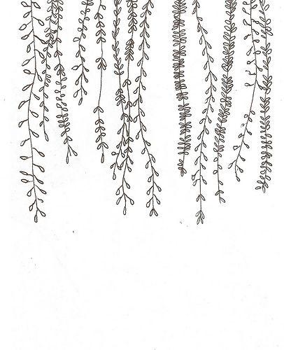 Drawn leaves vine Ideas on 25+ Lozano) drawings