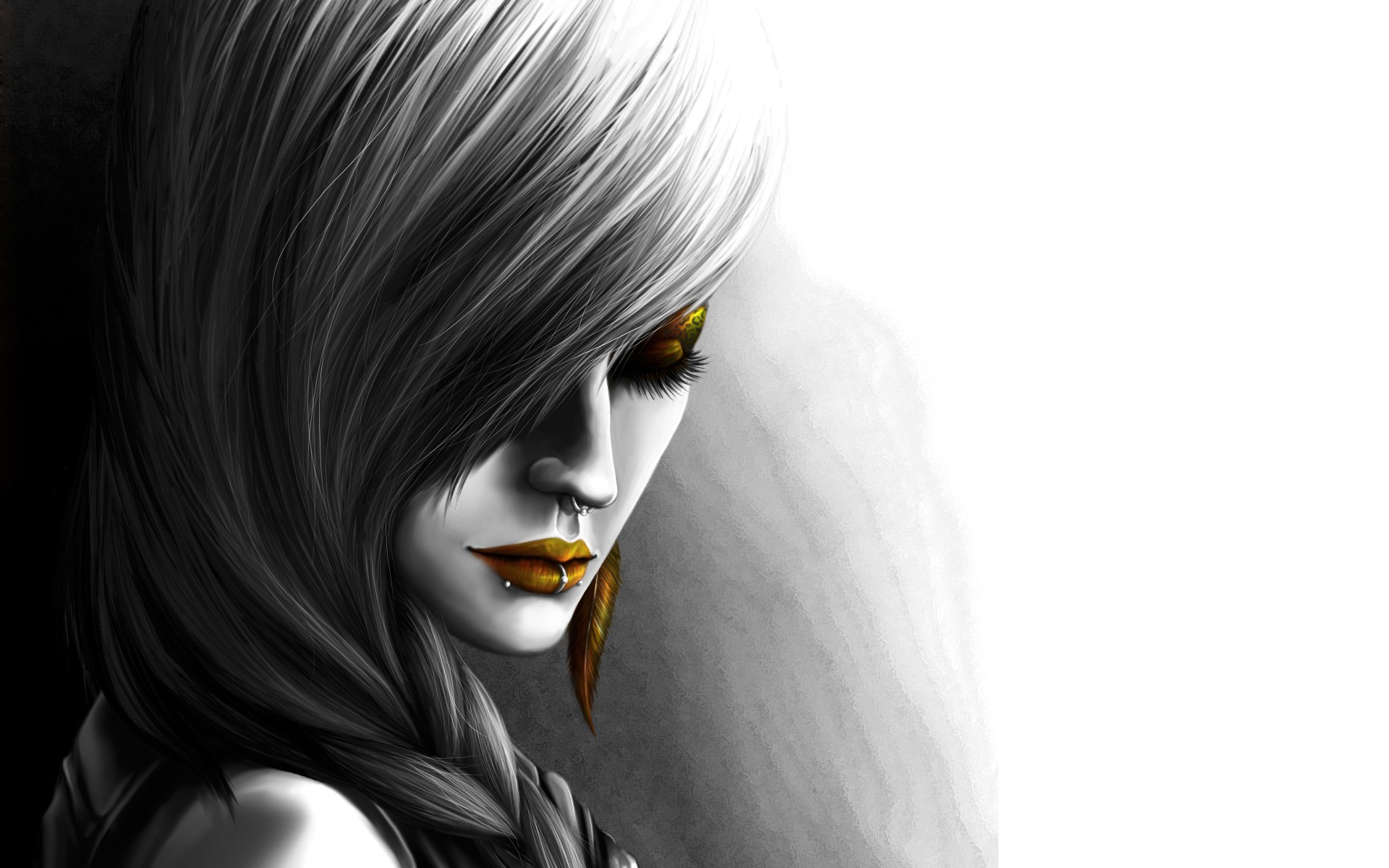 Drawn wallpaper sketch WallpaperSafari Woman Drawing Black wallpapers
