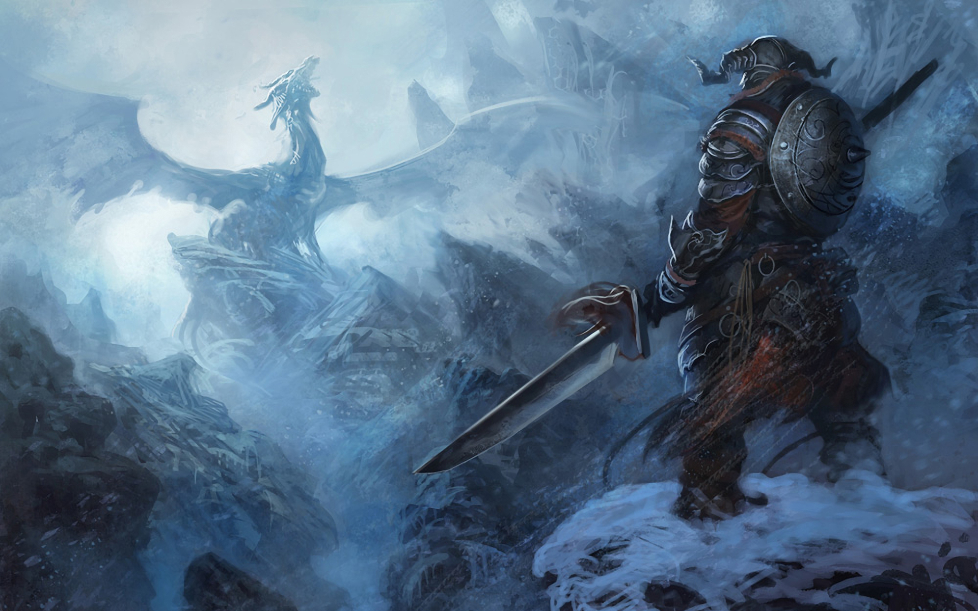 Drawn wallpaper skyrim Skyrim Dragon Dragon wallpaper Armor