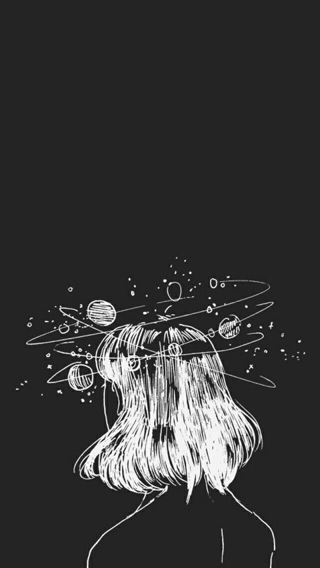 Drawn zodiac tumblr background #1