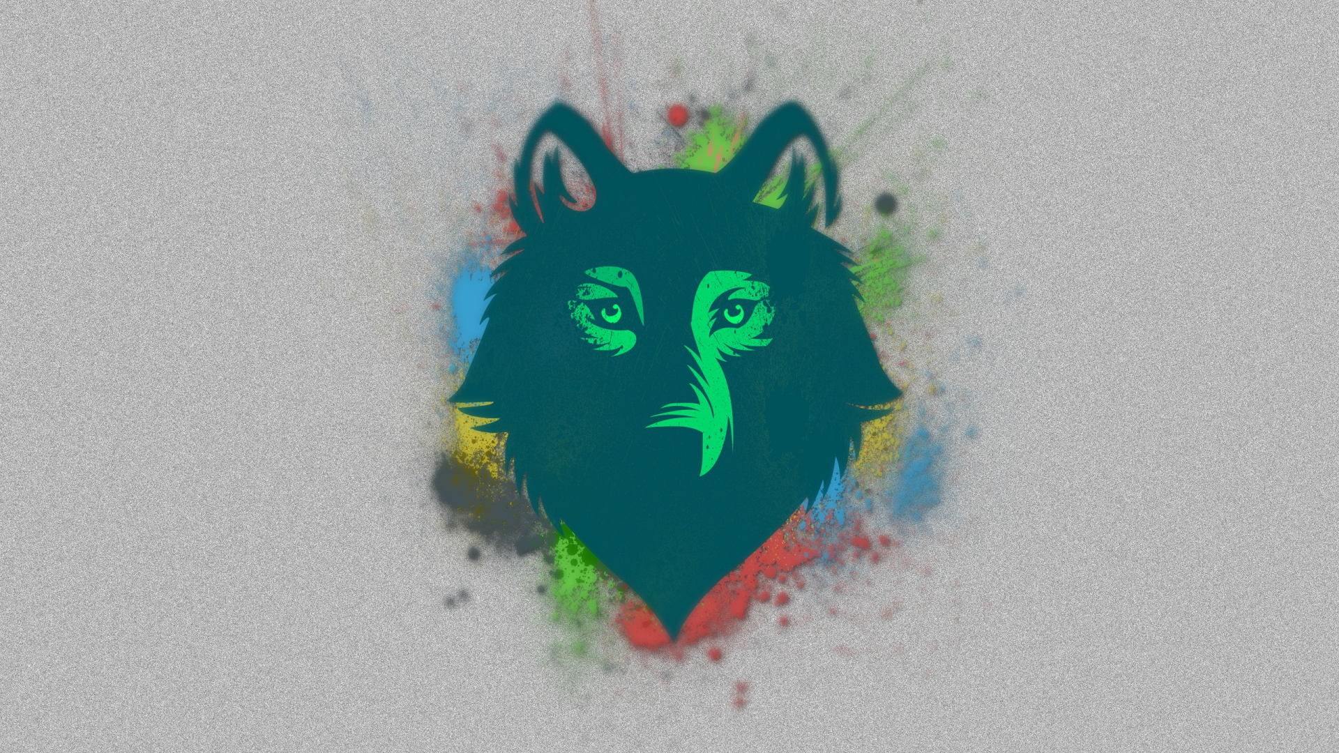Drawn wallpaper wolf Spot Face 1920x1080 Download spot