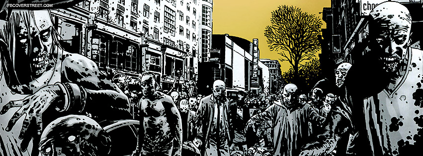 Drawn wallpaper zombie Covers Drawing Zombie City Comic