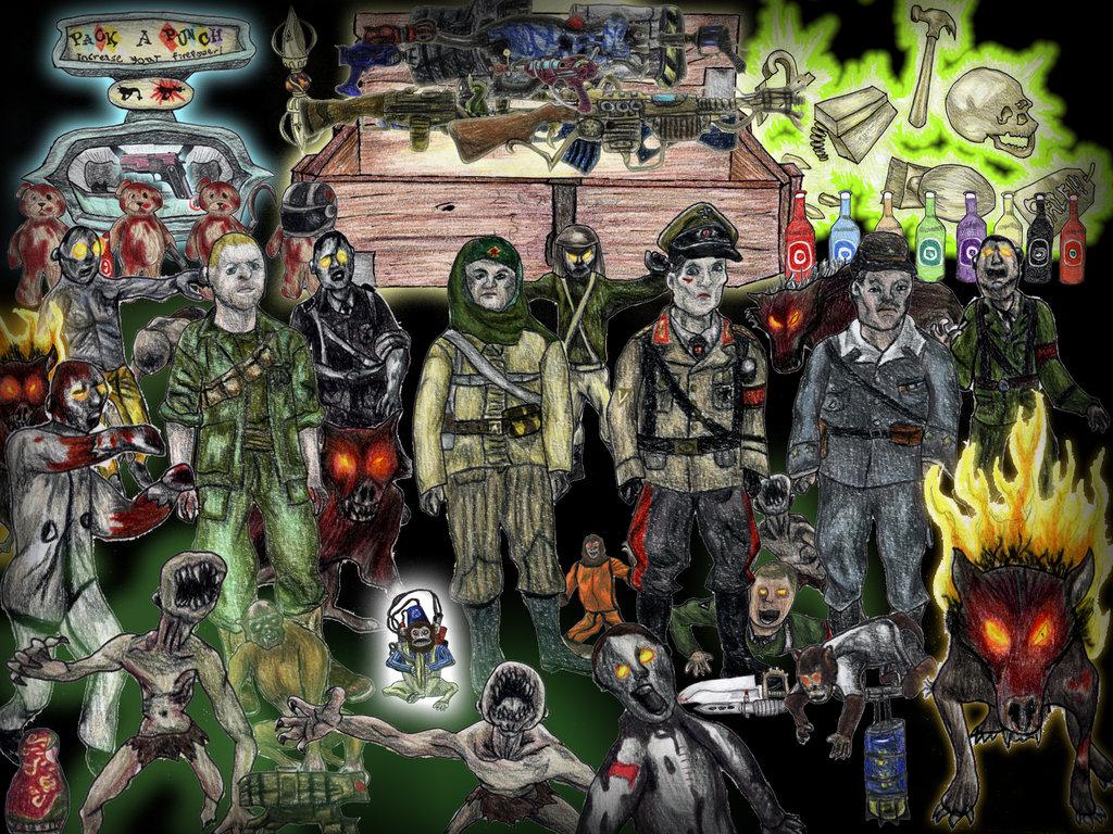 Drawn wallpaper zombie DeviantArt  Call Katherinator of