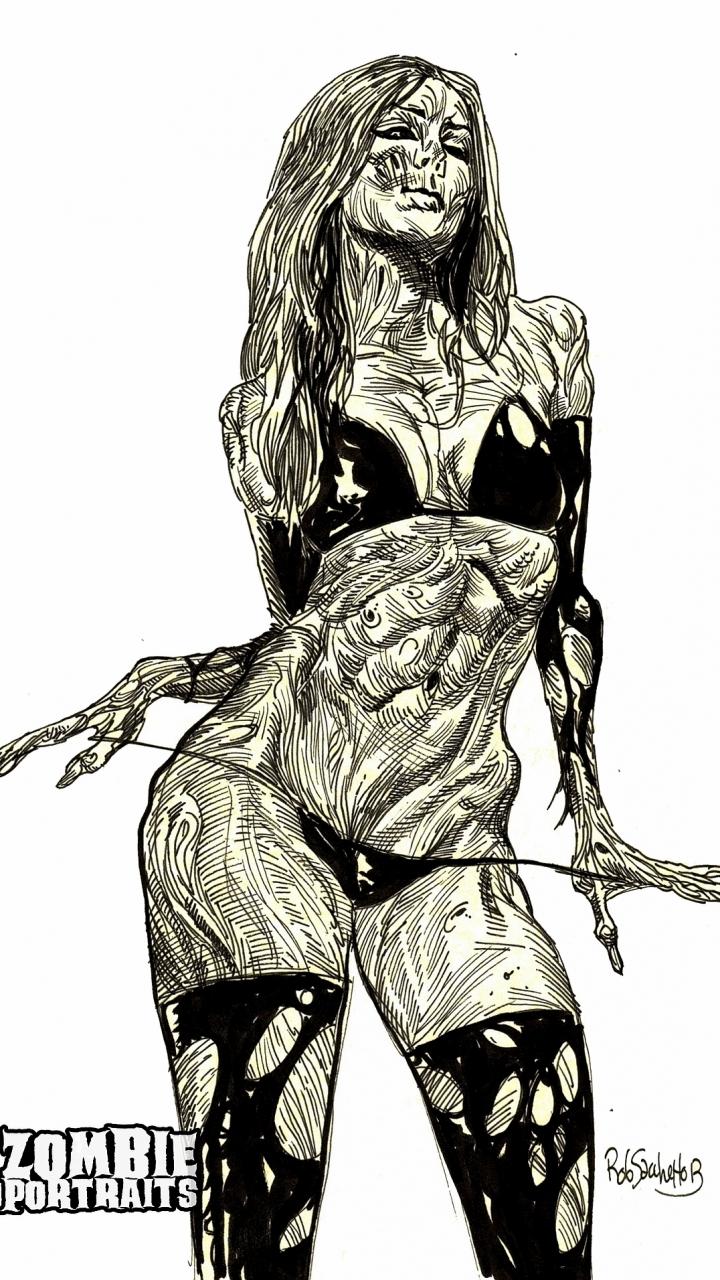 Drawn wallpaper zombie 720x1280 Wallpaper 601762 Zombie 37