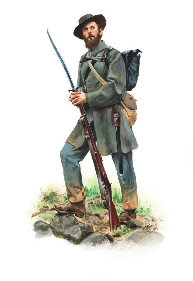 Drawn wars civil war Troiani ACW Don Confederate by