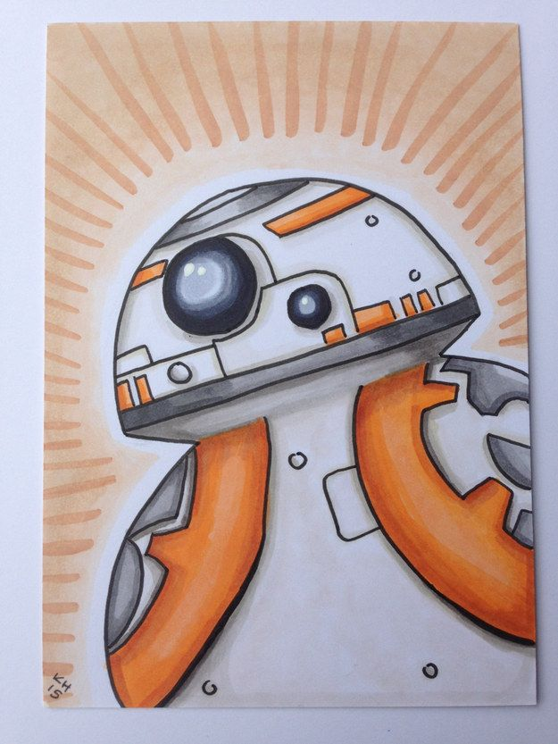 Drawn star wars 4th grade Etsy Inspired Force Star ideas