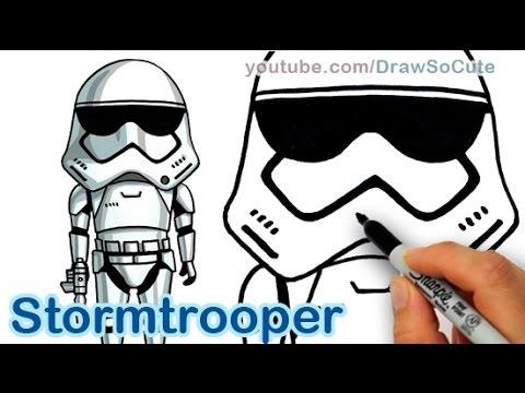 Drawn star wars head By to Draw Star Draw