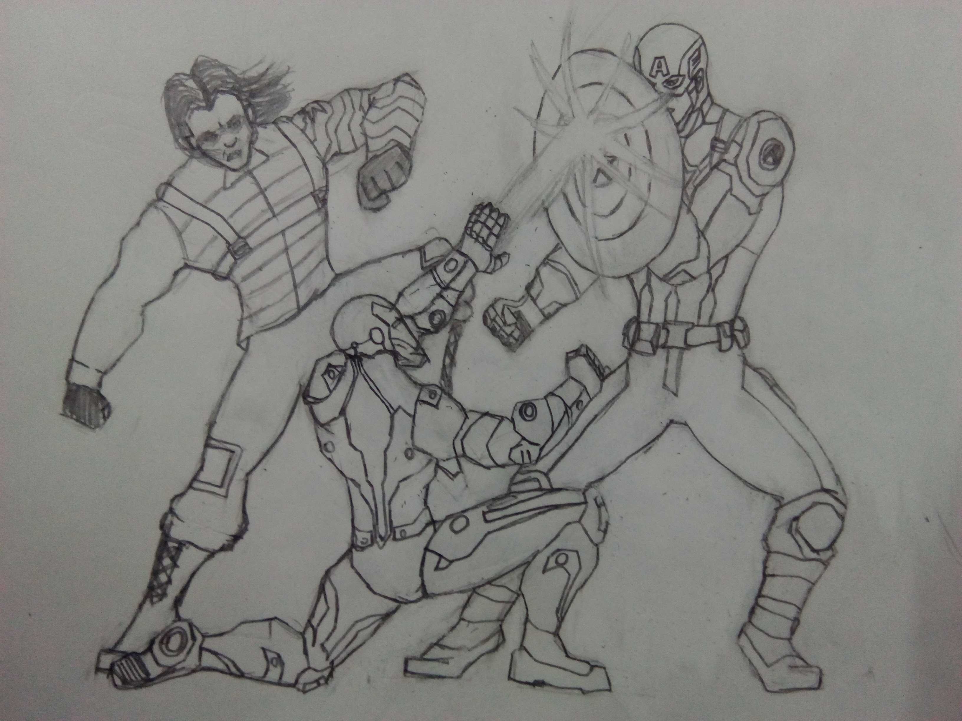 Drawn wars figure drawing Civil War Drawing  America