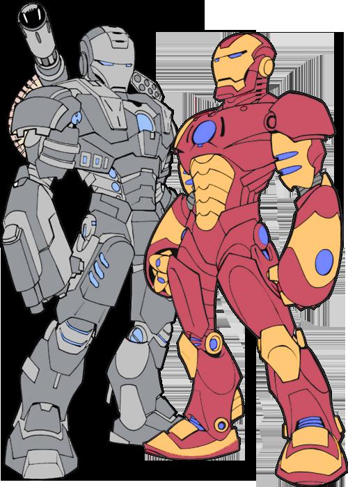 Drawn wars iron man 2 war machine By War Machine Iron DeviantArt